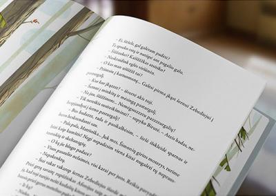 Recueil de poème imprimé sur papier avec une bonne main