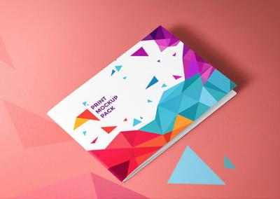 Une brochure au format à l'italienne