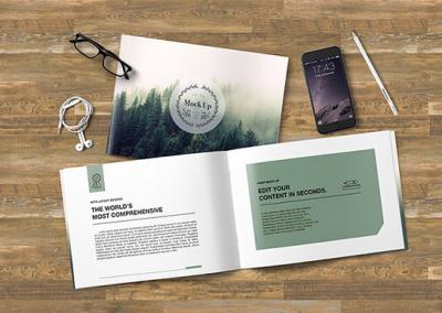 Un projet de brochure