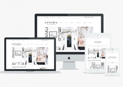 Design de site internet mobile et bureau