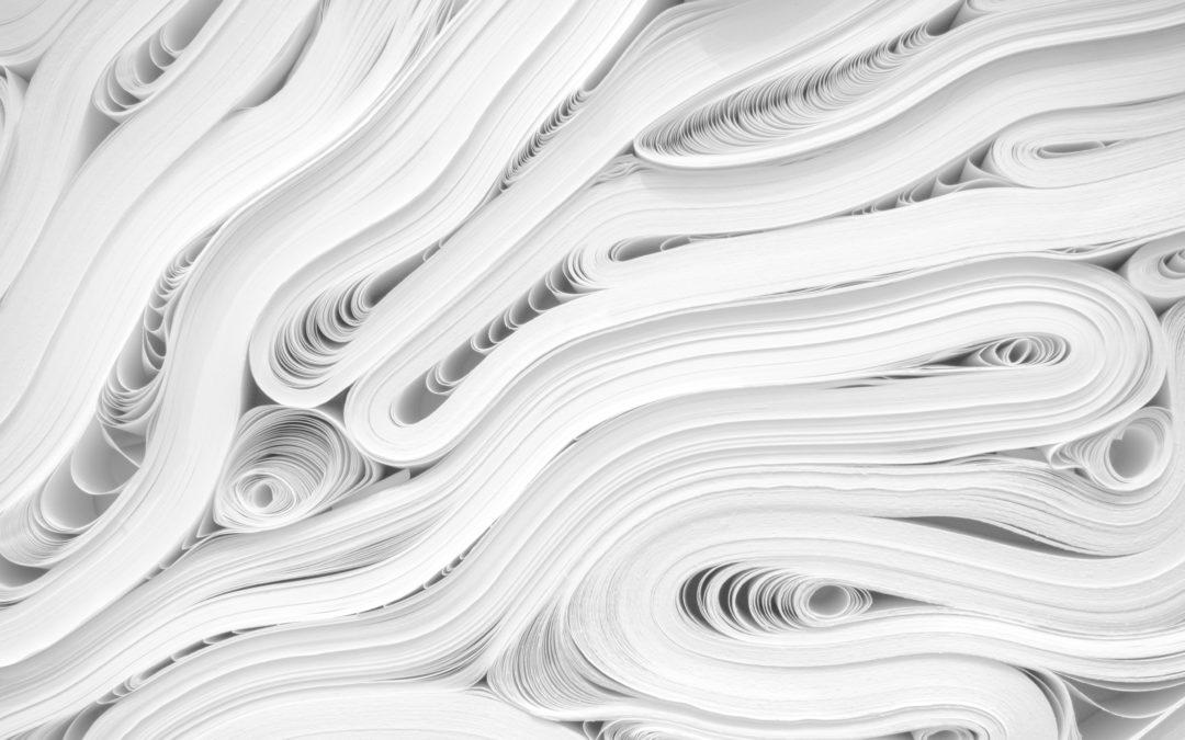 Sortes de papier par Colorset entre Carouge et Genève - photo de jj-ying